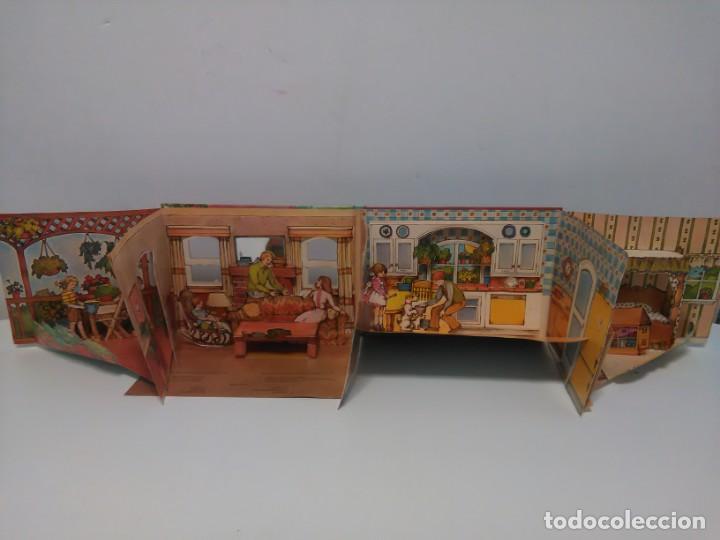 Libros antiguos: Mi casa, libro escenario, tridimensional, editorial Montena - Foto 13 - 160984130