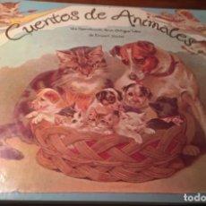 Libros antiguos: CUENTOS DE ANIMALES UNA REPRODUCCION DE UN ANTIGUO LIBRO DE ERNEST NISTER DIORAMAS. Lote 161011142