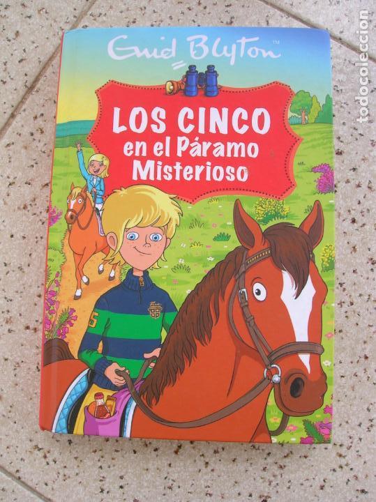 LIBRO DE ENID BLYTON LOS CINCO EN EL PARAMO MISTERIOSO ,RBA EDITORES (Libros Antiguos, Raros y Curiosos - Literatura Infantil y Juvenil - Cuentos)