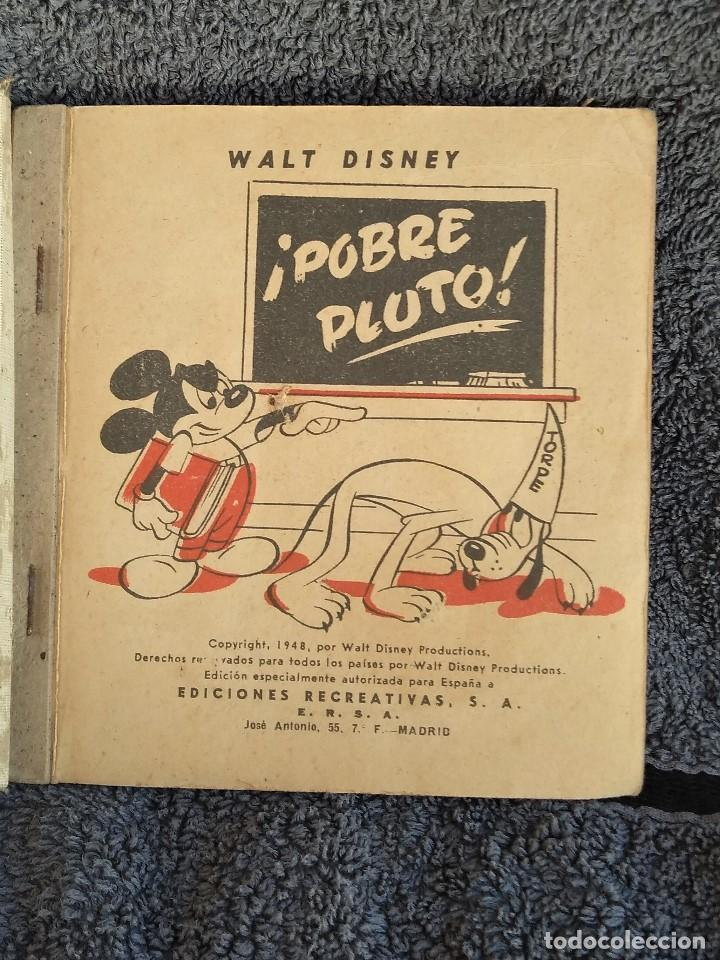 Libros antiguos: LIBRO DE WALT DISNEY POBRE PLUTO - Foto 3 - 161907222