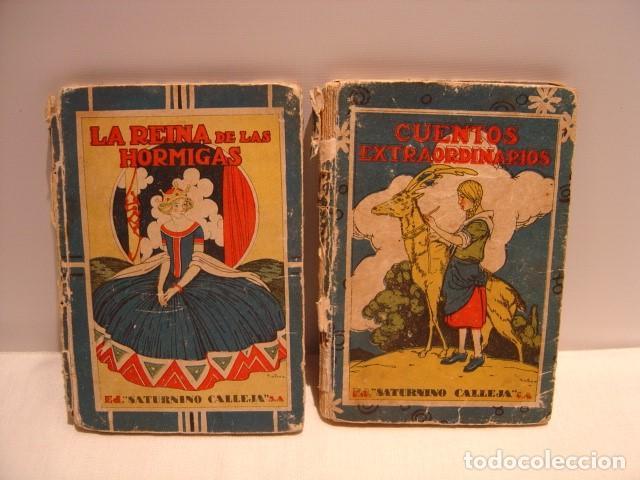 CUENTOS EXTRAORDINARIOS - LA REINA DE LAS HORMIGAS - CALLEJA BIBLIOTECA ESCOLAR RECREATIVA (Libros Antiguos, Raros y Curiosos - Literatura Infantil y Juvenil - Cuentos)
