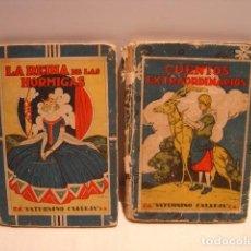 Libros antiguos: CUENTOS EXTRAORDINARIOS - LA REINA DE LAS HORMIGAS - CALLEJA BIBLIOTECA ESCOLAR RECREATIVA. Lote 163130742