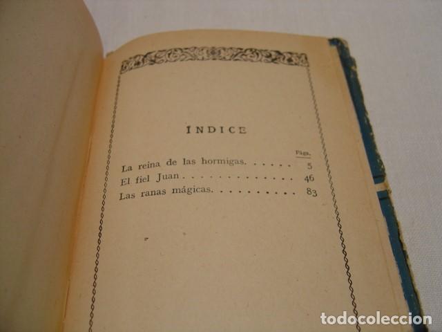 Libros antiguos: CUENTOS EXTRAORDINARIOS - LA REINA DE LAS HORMIGAS - CALLEJA BIBLIOTECA ESCOLAR RECREATIVA - Foto 7 - 163130742
