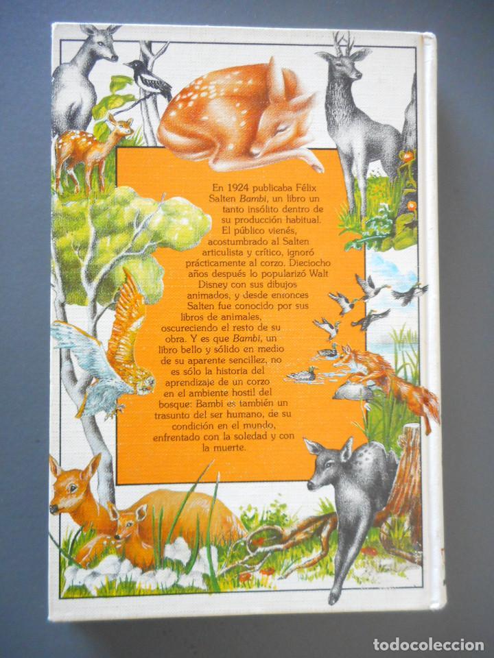 Libros antiguos: Bambi - Ediciones Generales Anaya - 1ª edición, 1985 - Foto 2 - 163530398