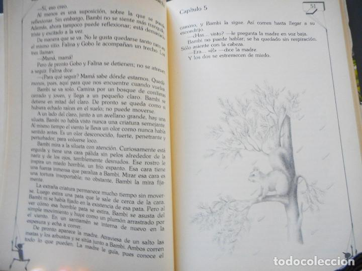 Libros antiguos: Bambi - Ediciones Generales Anaya - 1ª edición, 1985 - Foto 7 - 163530398