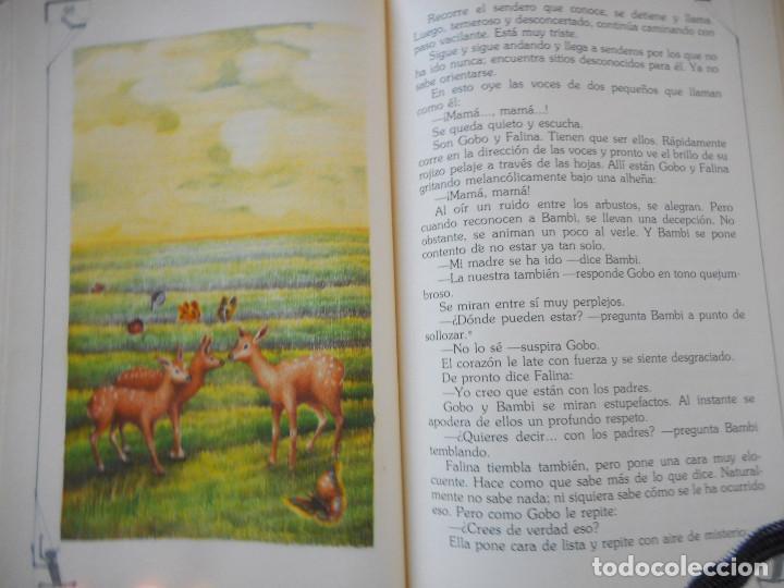 Libros antiguos: Bambi - Ediciones Generales Anaya - 1ª edición, 1985 - Foto 8 - 163530398