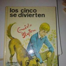 Libros antiguos: LOS CINCO SE DIVIERTE. ENID BLYTON. Lote 164212838