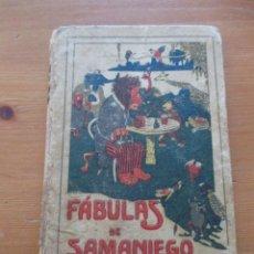Livros antigos: FÁBULAS DE SAMANIEGO ED. SATURNINO CALLEJA. Lote 164273178