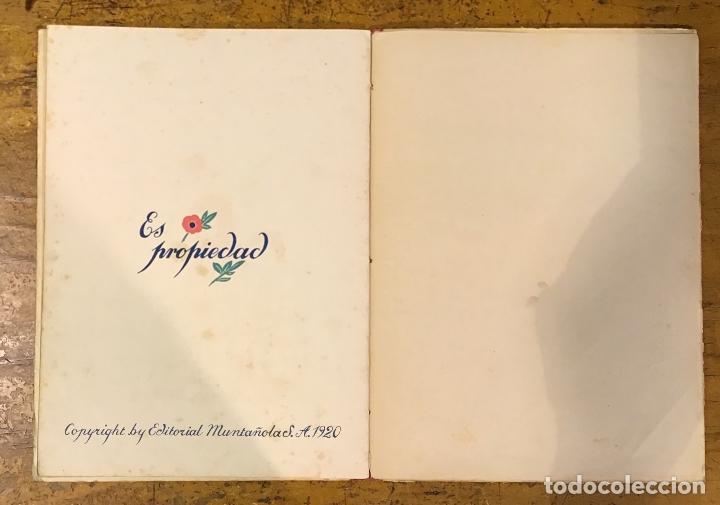 Libros antiguos: LA CAMPANA QUE ANDA, GOETHE, AÑO 1920 - Foto 3 - 164592814