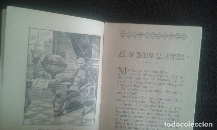 Libros antiguos: ASI SE ESCRIBE LA HISTORIA. SATURNINO CALLEJA. CUENTO. SERIE X. TOMO 190. AÑO 1902. - Foto 10 - 164621574