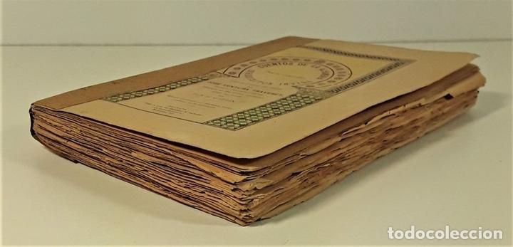 Libros antiguos: CUENTOS DE LA ALAMBRA. W. IRVING. EDIT. P. V. SABATEL. GRANADA. 1888. - Foto 3 - 164708830