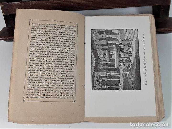 Libros antiguos: CUENTOS DE LA ALAMBRA. W. IRVING. EDIT. P. V. SABATEL. GRANADA. 1888. - Foto 5 - 164708830