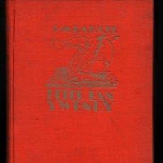 Libros antiguos: PETER PAN Y WENDY. J.M. BARRIE. ED. JUVENTUD. 5ª EDICION 1934 ILUSTRADO. Lote 164785050