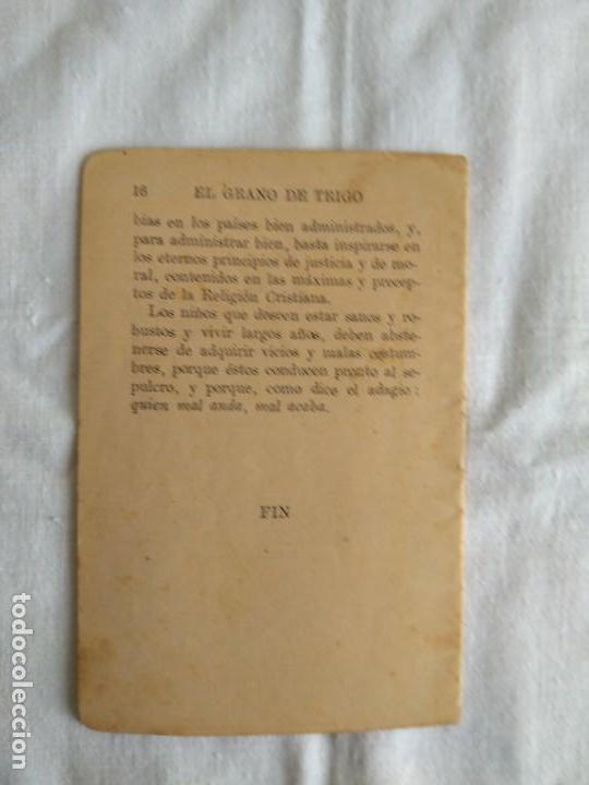 Libros antiguos: EL GRANO DE TRIGO - Foto 2 - 164792330