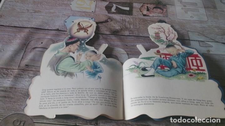 Libros antiguos: El chinito ling, coleccion de cuentos troquelados durve - Foto 3 - 164903018