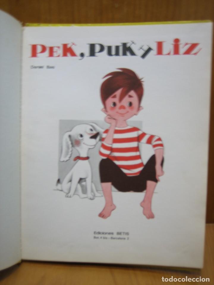 Libros antiguos: Cuento infantil Pek, Puk y Liz - Foto 2 - 165462786