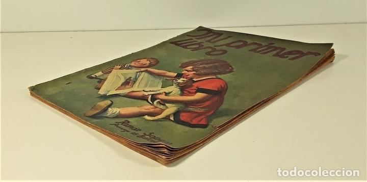 Libros antiguos: MI PRIMER LIBRO. MAGDALENA FUENTES. EDIT. RAMÓN SOPENA. BARCELONA. S/F. - Foto 3 - 166279618