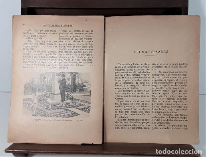 Libros antiguos: MI PRIMER LIBRO. MAGDALENA FUENTES. EDIT. RAMÓN SOPENA. BARCELONA. S/F. - Foto 6 - 166279618
