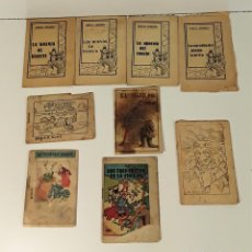 Libros antiguos: CUENTOS EN MINIATURA. LOTE DE 9 EJEMPLARES. VARIOS AUTORES. ESPAÑA. SIGLO XX.. Lote 166294722