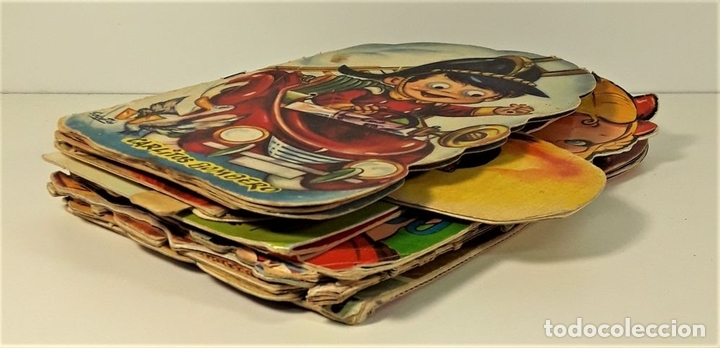 Libros antiguos: CUENTOS TROQUELADOS. LOTE DE 15 EJEMPLARES. VV. AA. VARIAS EDITORIALES. SIGLO XX. - Foto 2 - 166391134