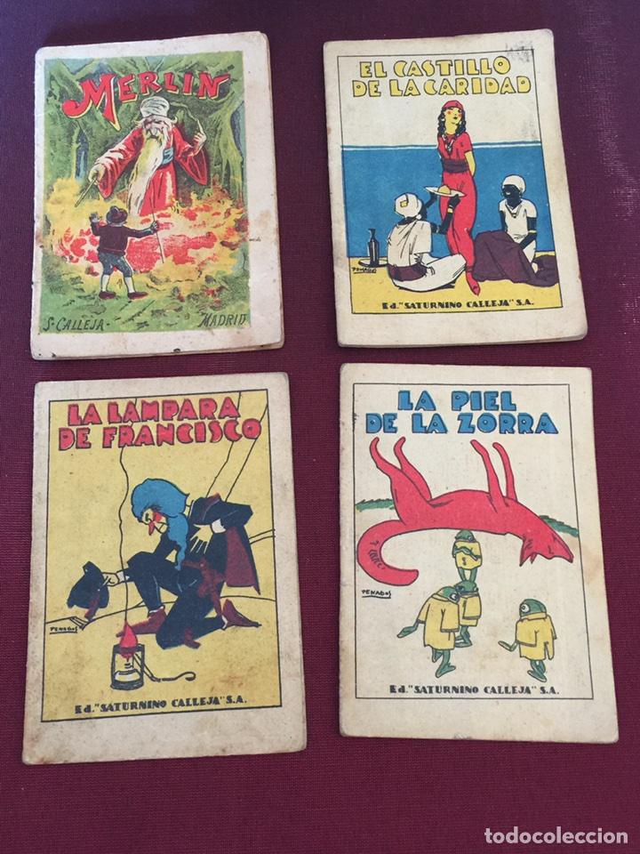 LOTE 4 CUENTOS AUTÉNTICOS DE CALLEJA (Libros Antiguos, Raros y Curiosos - Literatura Infantil y Juvenil - Cuentos)