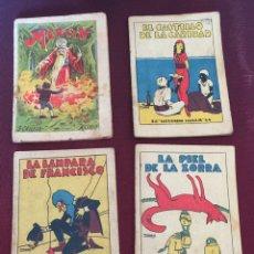 Libros antiguos: LOTE 4 CUENTOS AUTÉNTICOS DE CALLEJA. Lote 166552846