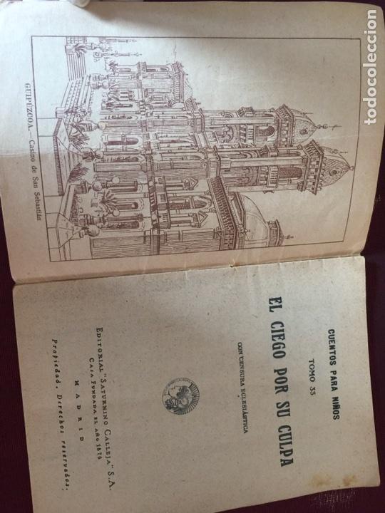 Libros antiguos: Auténtico cuento de calleja - Foto 2 - 166554430