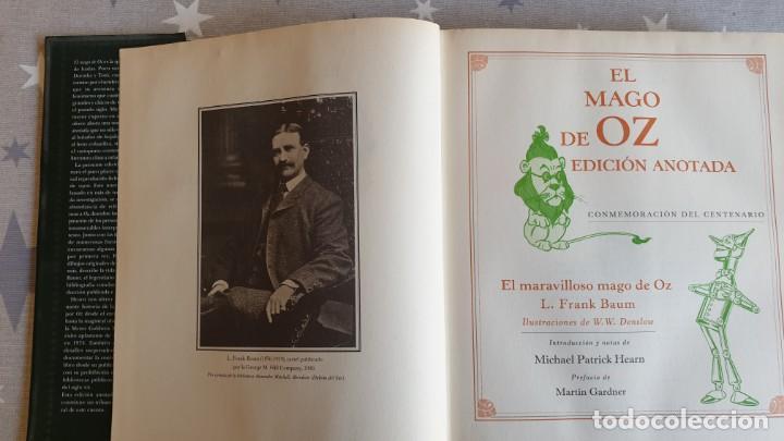 Libros antiguos: EL MAGO DE OZ ,EDICION ANOTADA.CONMEMORACION DEL CENTENARIO. - Foto 4 - 166671390