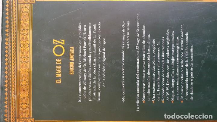 Libros antiguos: EL MAGO DE OZ ,EDICION ANOTADA.CONMEMORACION DEL CENTENARIO. - Foto 9 - 166671390