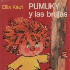 Libros antiguos: PUMUKY Y LAS BRUJAS, EDITORIAL NOGUER 1975. Lote 166700246