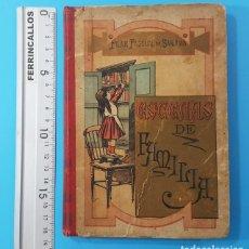Libros antiguos: ESCENAS DE FAMILIA (CONTINUACION DE FLORA) PILAR PASCUAL DE SANJUAN, PALUZIE 1895 308 PAG. Lote 166825942