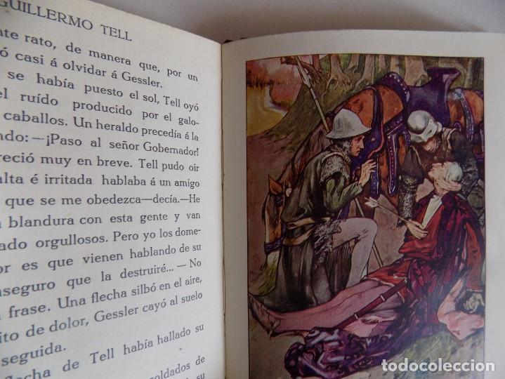 Libros antiguos: LIBRERIA GHOTICA. MARSHALL. HISTORIA DE GUILLERMO TELL. RELATADA A LOS NIÑOS.1914.ILUSTRADO - Foto 2 - 167182564