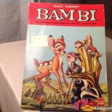 Libros antiguos: BAMBÚ , WALT DISNEY . Lote 167884148