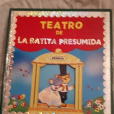 Libros antiguos: TEATRO LA RATITA PRESUMIDA, POP-UP. Lote 167928020