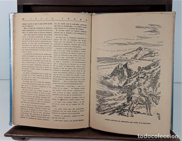 Libros antiguos: COLECCIÓN MOLINO. 4 TOMOS. JULIO VERNE. EDIT MOLINO. BARCELONA. SIGLO XX. - Foto 5 - 168039380