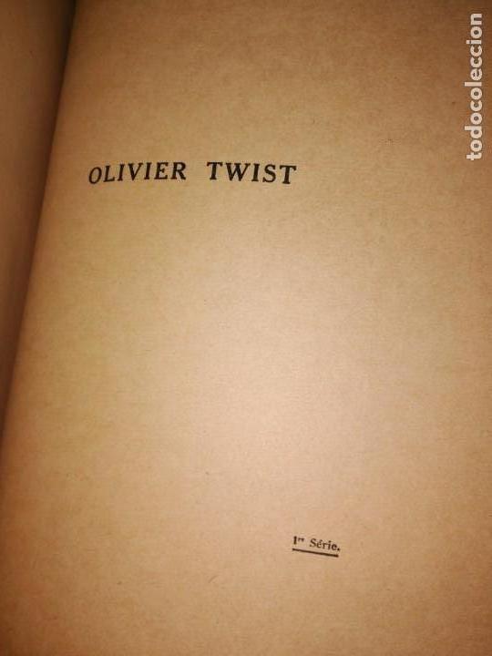 Libros antiguos: GRAN formato LIBRO OLIVIER TWIST 35 X 25 X 5 CHARLES DICKENS 1928 - Foto 5 - 168106624