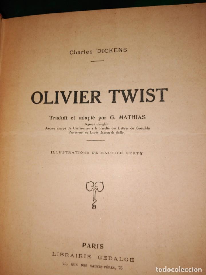 Libros antiguos: GRAN formato LIBRO OLIVIER TWIST 35 X 25 X 5 CHARLES DICKENS 1928 - Foto 7 - 168106624