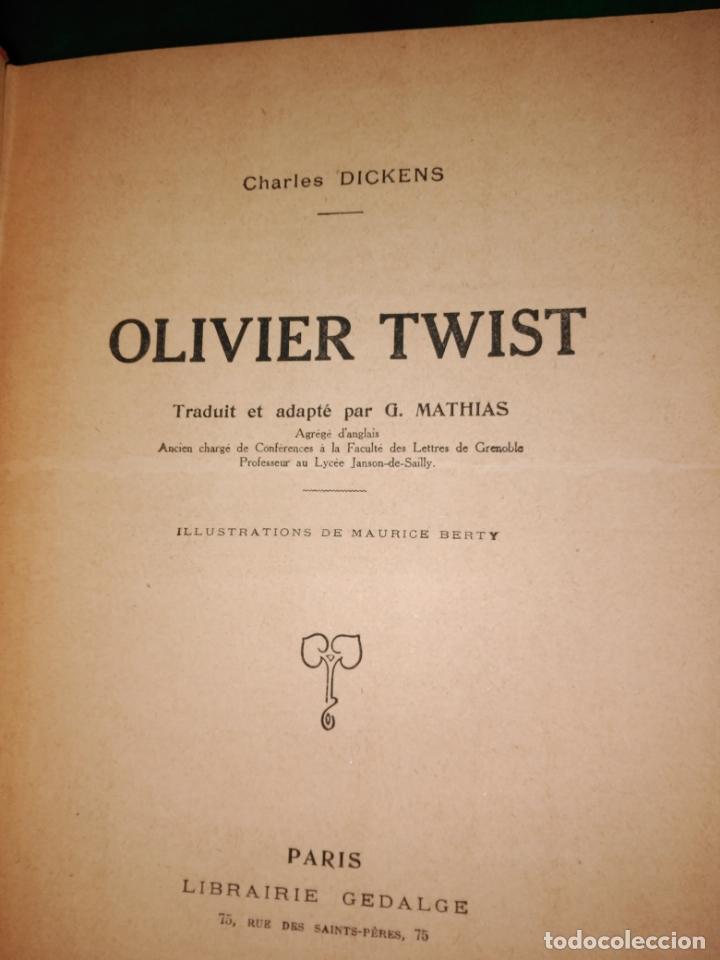 Libros antiguos: GRAN formato LIBRO OLIVIER TWIST 35 X 25 X 5 CHARLES DICKENS 1928 - Foto 12 - 168106624
