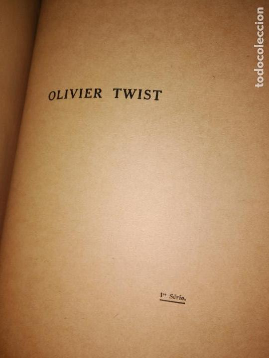 Libros antiguos: GRAN formato LIBRO OLIVIER TWIST 35 X 25 X 5 CHARLES DICKENS 1928 - Foto 15 - 168106624