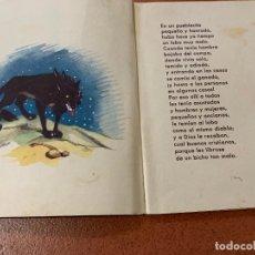 Libros antiguos: EL HERMANO LOBO. ILUSTRA MARIONA LLUCH. CUENTO PARA PEQUEÑOS. MIDE 15X12 CMS. Lote 168700464