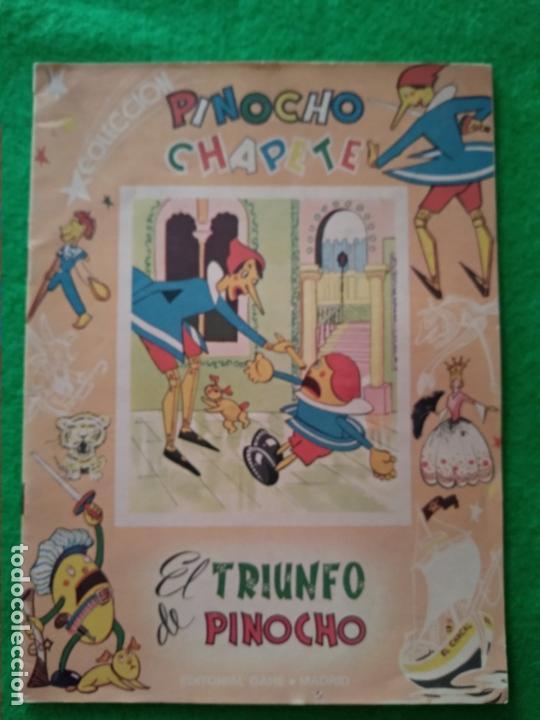 CUENTO PINOCHO EL TRIUNFO DE PINOCHO Nº 25 COLECCION DE LA EDITORIAL GAHE MADRID AÑOS 60 (Libros Antiguos, Raros y Curiosos - Literatura Infantil y Juvenil - Cuentos)
