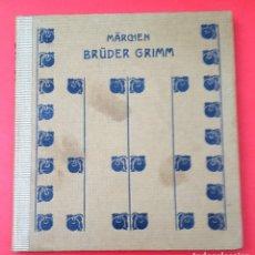 Libros antiguos: CUENTOS DE GRIMM - MARCHEN BRÜDER GRIMM - 1920. Lote 168753652
