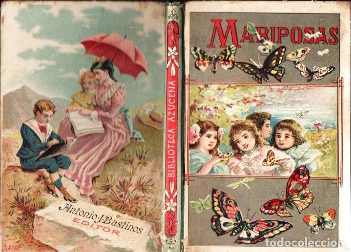 MANUEL MARINEL.LO : MARIPOSAS COSAS DE NIÑOS - PEQUEÑAS AVENTURAS (BASTINOS, 1908) (Libros Antiguos, Raros y Curiosos - Literatura Infantil y Juvenil - Cuentos)