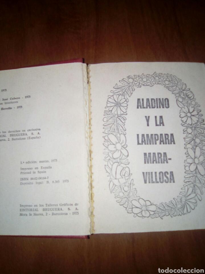 Libros antiguos: Tesoro de cuentos. Nº 7. Aladino y la lámpara maravillosa y dos más. - Foto 2 - 168865937