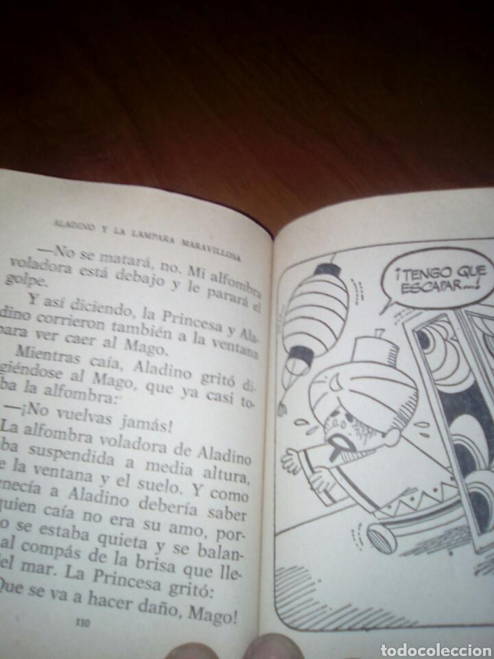 Libros antiguos: Tesoro de cuentos. Nº 7. Aladino y la lámpara maravillosa y dos más. - Foto 3 - 168865937