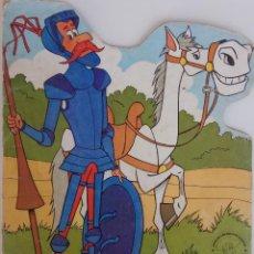 Libros antiguos: CUENTO TROQUELADO DON QUIJOTE DE LA MANCHA Nº 1 - EDITORIAL BRUGUERA . Lote 169203492