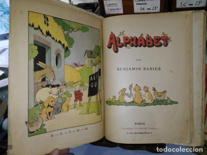 Libros antiguos: Alphabet - Benjamin Rabier - Librairie Garnier Frères - año 1921 (Francés) - Foto 3 - 169396436