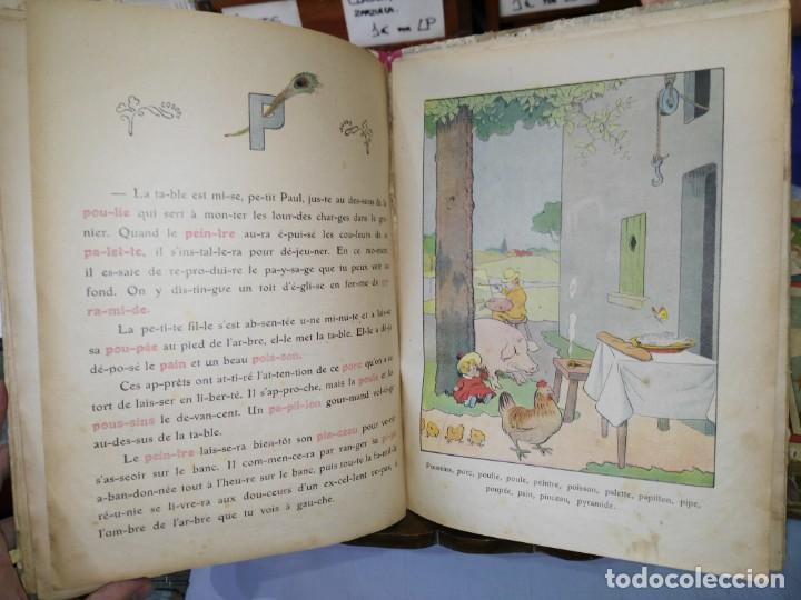 Libros antiguos: Alphabet - Benjamin Rabier - Librairie Garnier Frères - año 1921 (Francés) - Foto 4 - 169396436