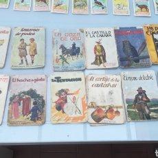 Libros antiguos: COLECCIÓN CUENTOS RAMÓN SOPENA Y OTROS.. Lote 169756860