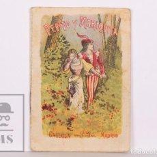 Libros antiguos: CUENTO ILUSTRADO - PEPITO Y MARIQUITA - SERIE V, TOMO 82. RECREO INFANTIL - S. CALLEJA, C. 1920. Lote 169894168